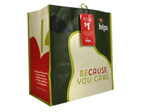 A House for Me Chosen for Hannaford Reusable Bag Program