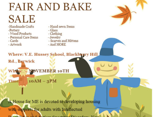 Fall Craft Fair and Bake Sale