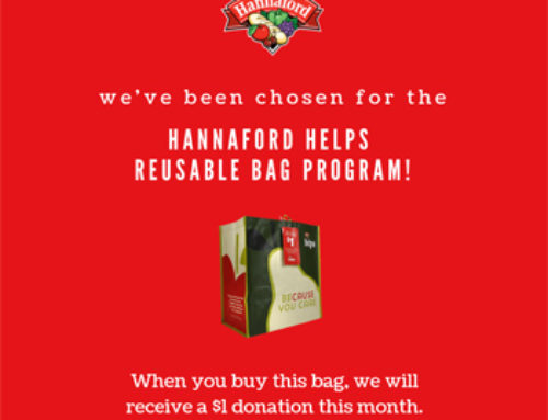 Hannaford Chooses A House for Me for September Reusable Bag Program